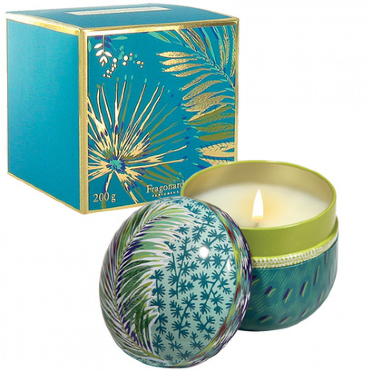 Fragonard Home Fragrance Bougie Parfumée Coriandre Lemongrass 200