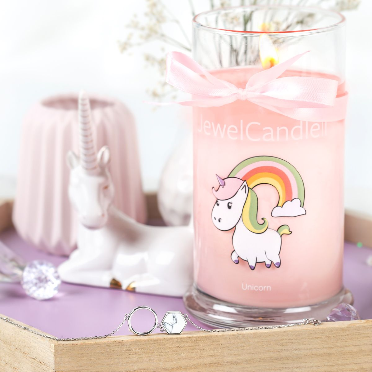 Licorne in 2019 | Licorne Power | Candles, Jewels