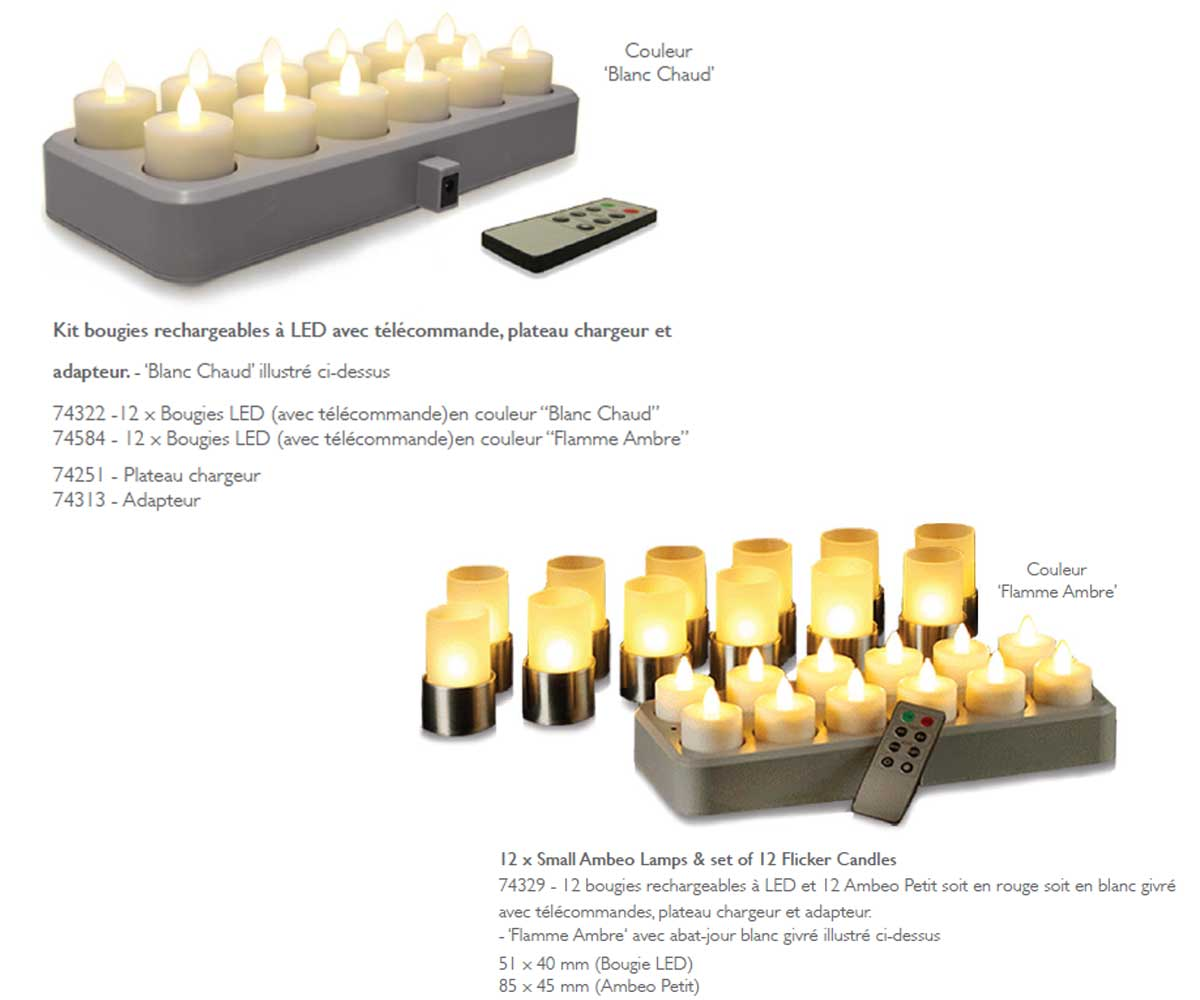 Rechargeables a LED – Lumea Ambiance