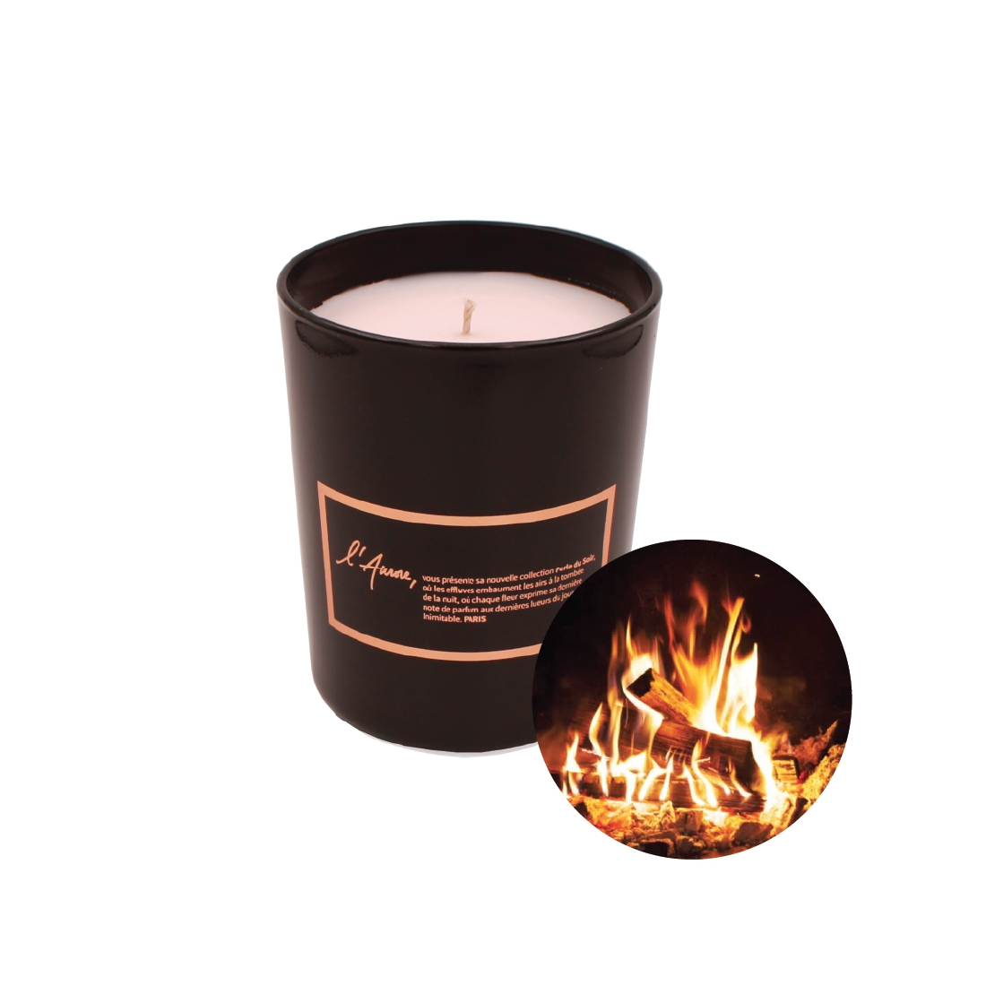 Scented candle AU COIN DU FEU (Wood Fire)