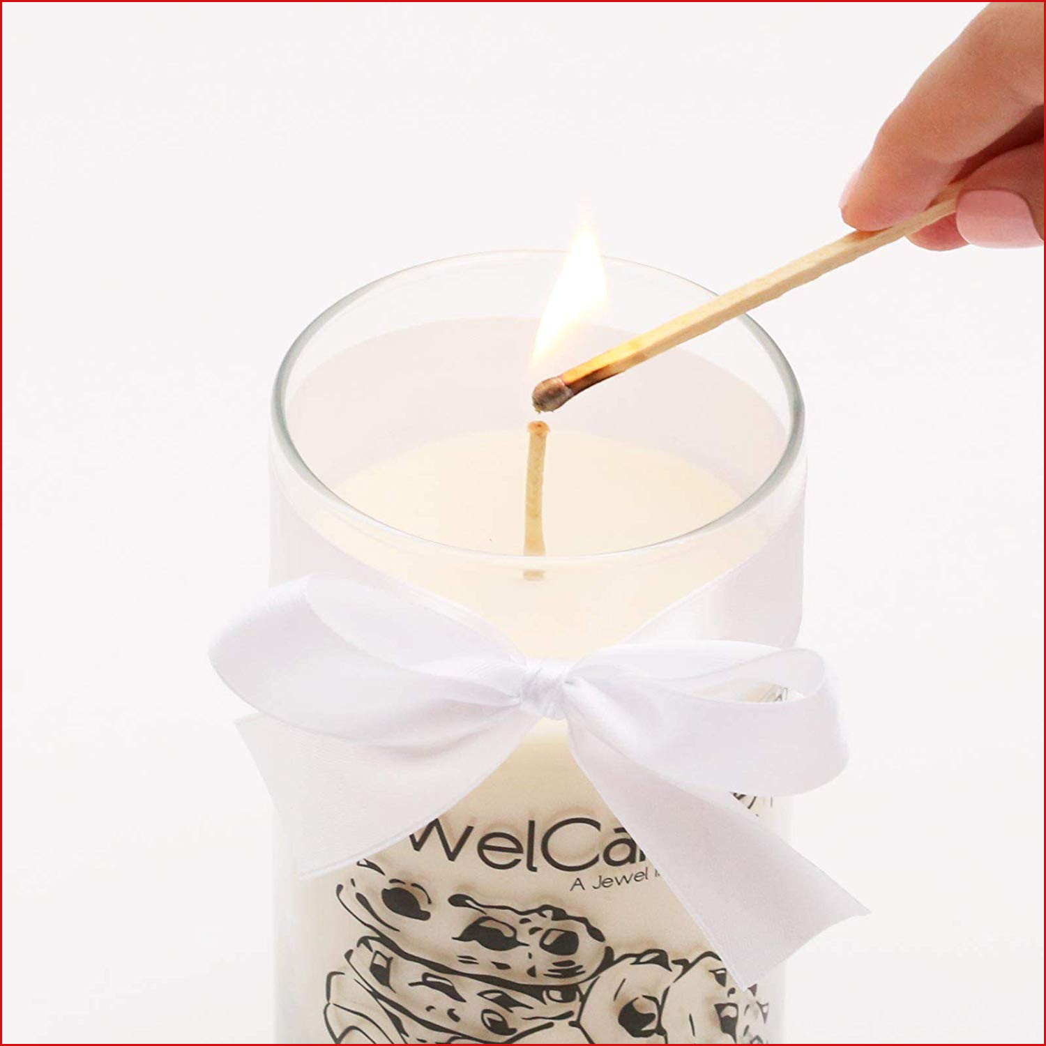 Bougie Pour oreille 369775 Jewelcandle Bougie Cookies & Cream Avec ...