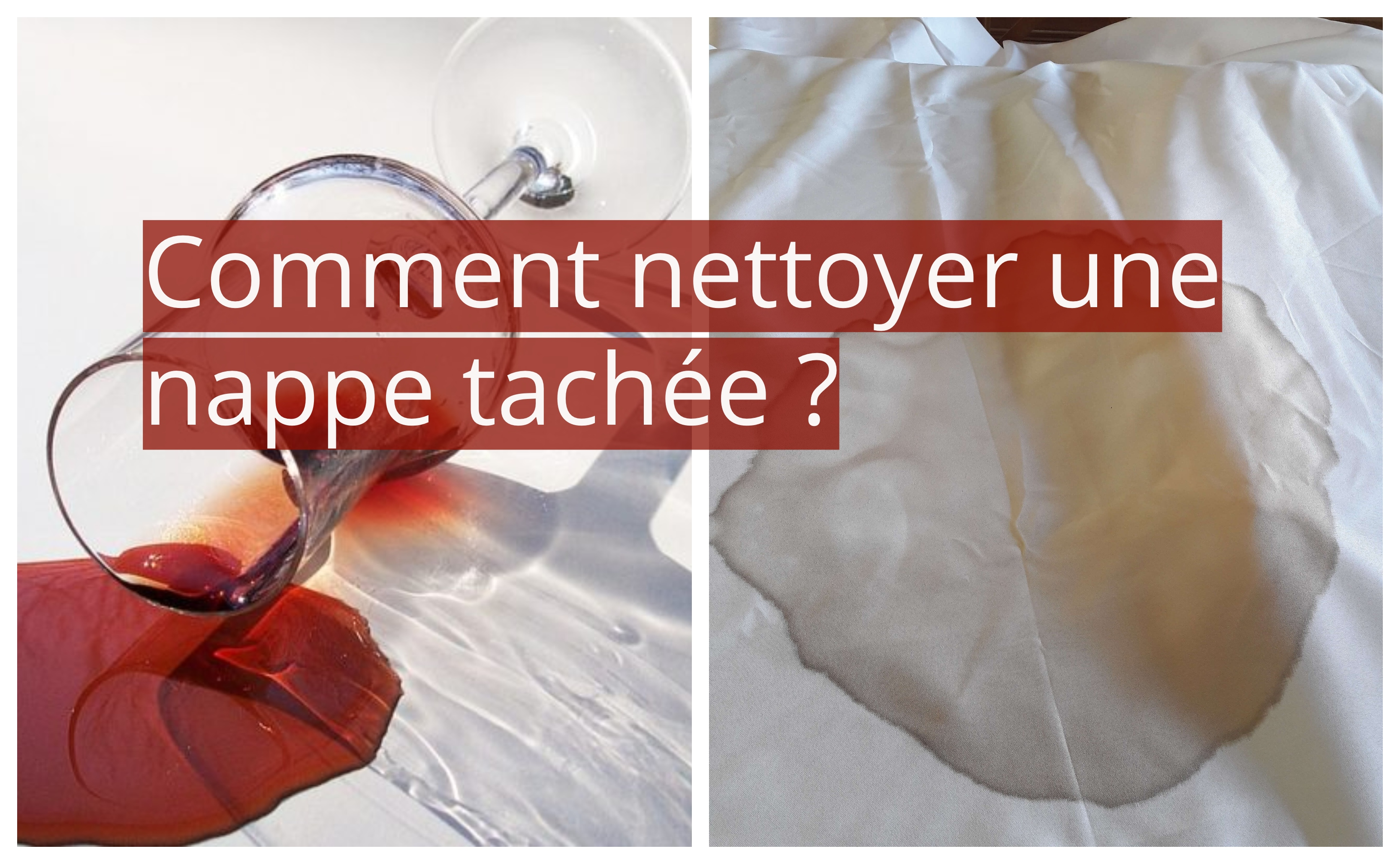 comment enlever cire de bougie sur nappe