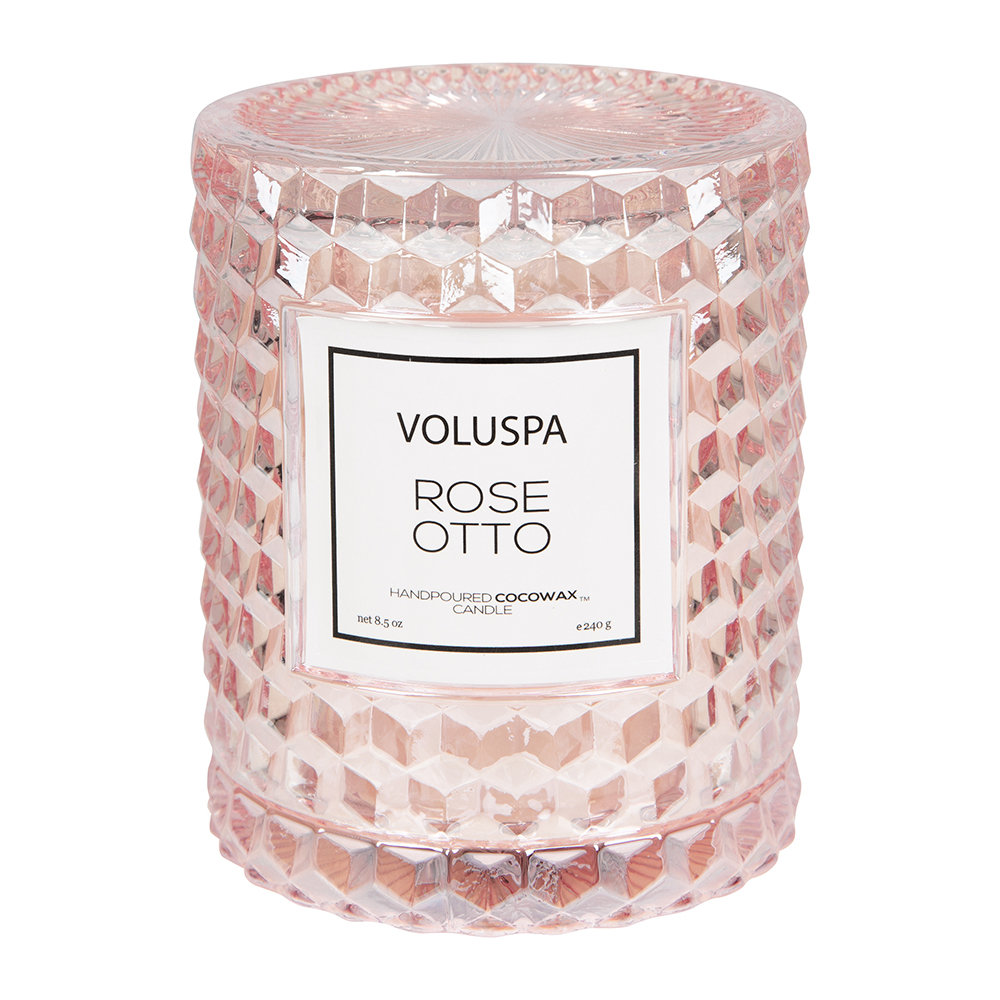 Bougie Icône Roses - Otto Rose - 240 g